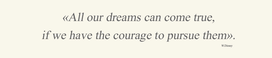 about dreams and courage quote