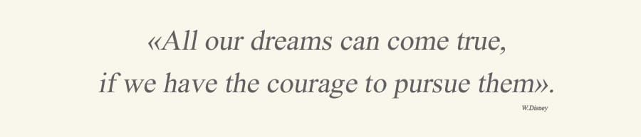 dreams courage quote