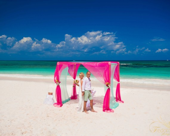Riviera Maya wedding.