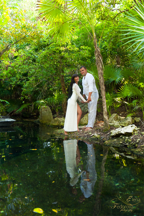 cenotes mexico photo shoot