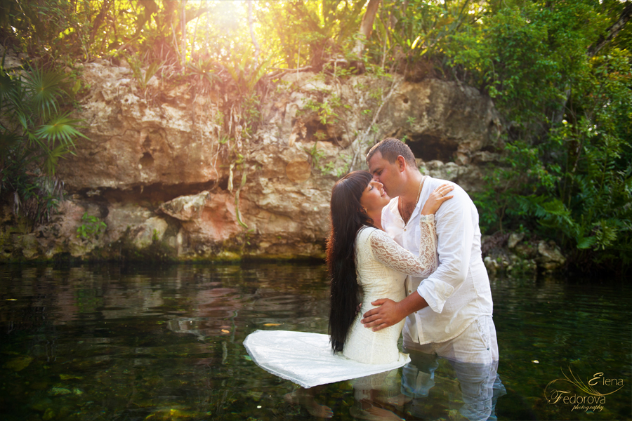 riviera maya cenotes photo shoot