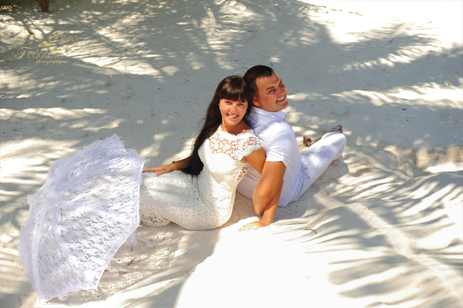 riviera maya honeymoon picture
