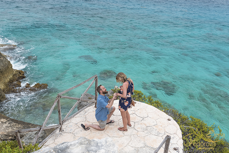 isla mujeres proposal photographer