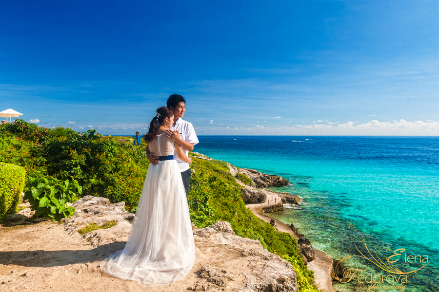 isla mujeres punta sur photo shoot