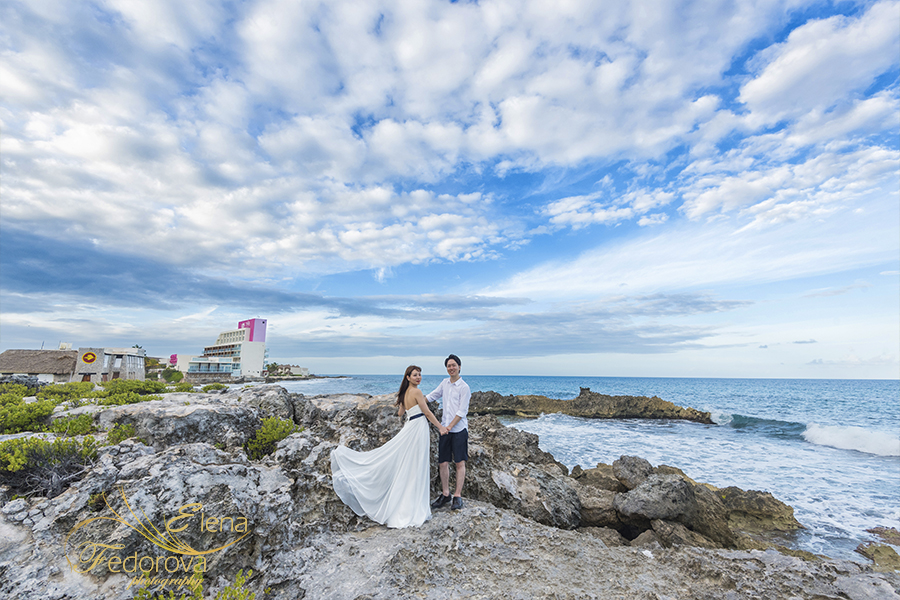 isla mujeres romantic photography