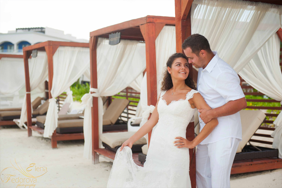 riviera maya wedding photos