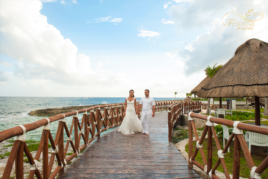 wedding photo session riviera maya