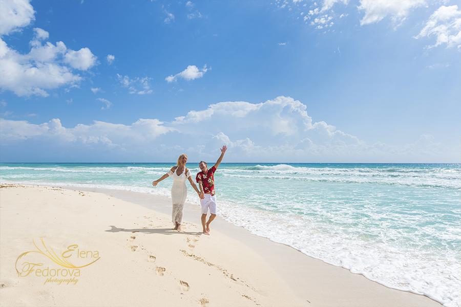 amazing day on beach