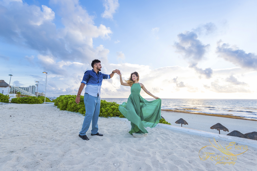 cancun amazing honeymoon photography
