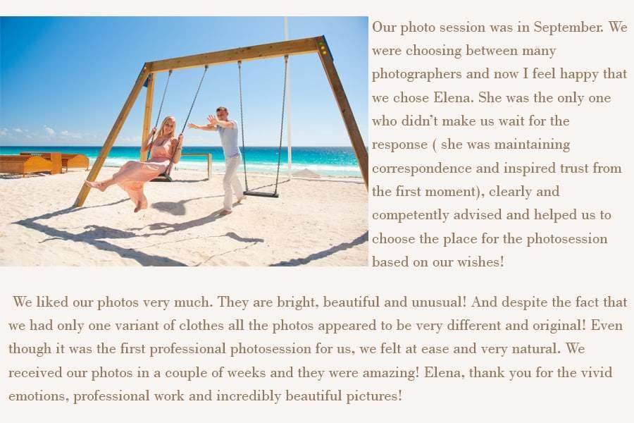 cancun wedding photographers reviews