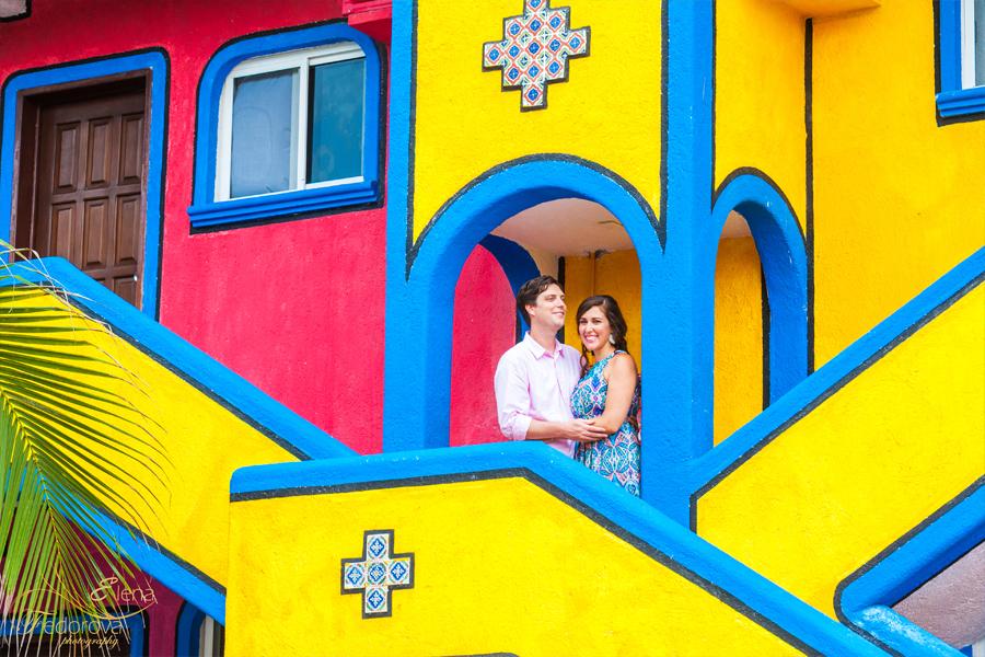honeymoon photo shoot colonial mexico