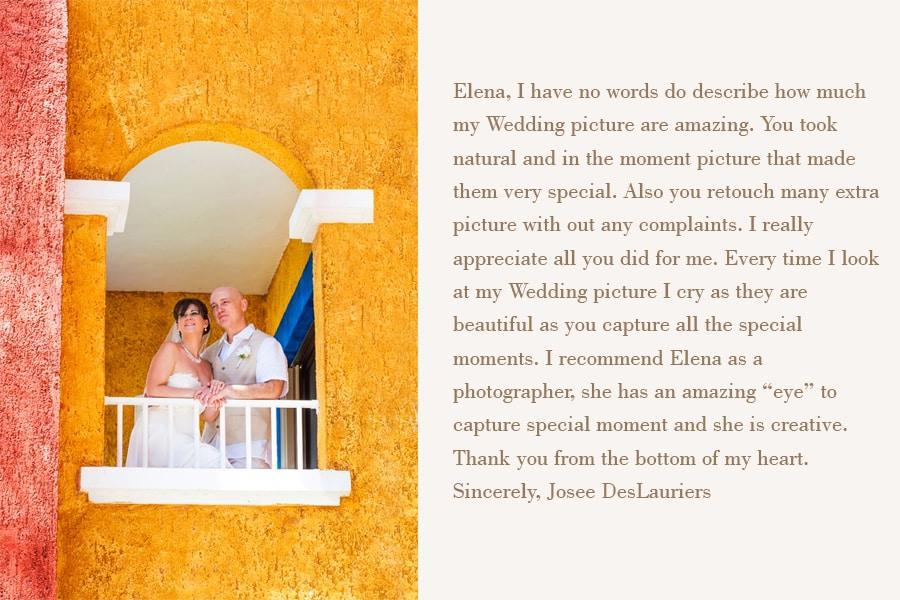 mexico wedding photographer reviews