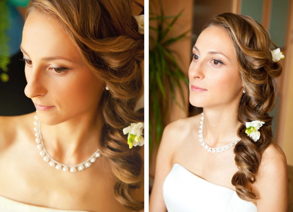 portraits of the bride
