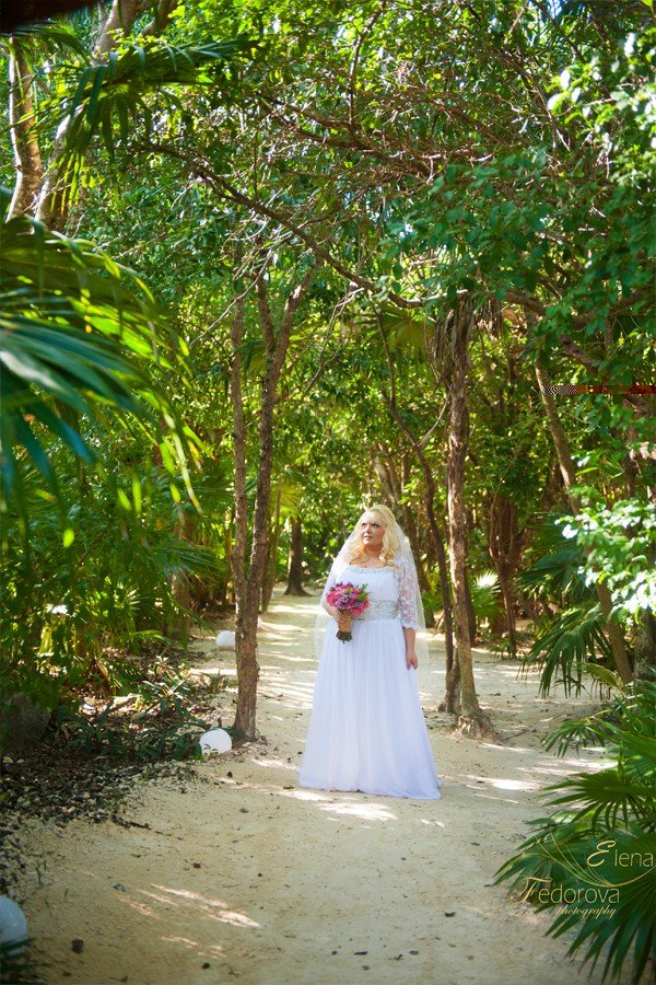 wedding photographer in playa del carmen