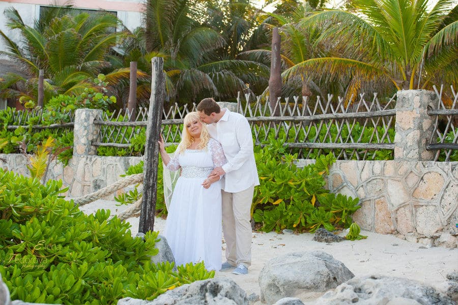 wedding photos in Playa del Carmen