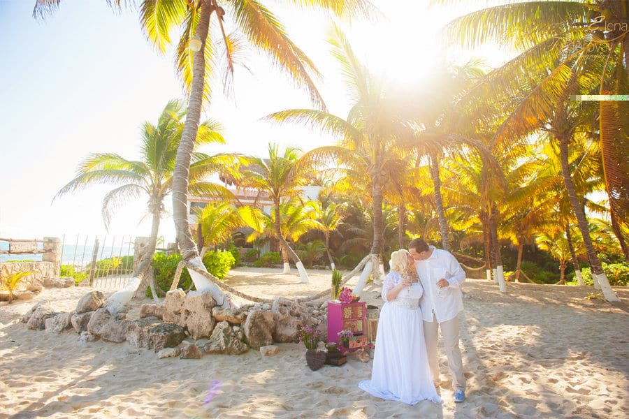 playa dl carmen wedding