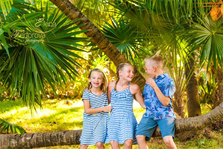 family pictures from cancun