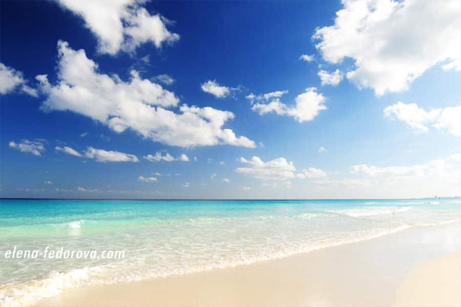 photos of cancun beaches