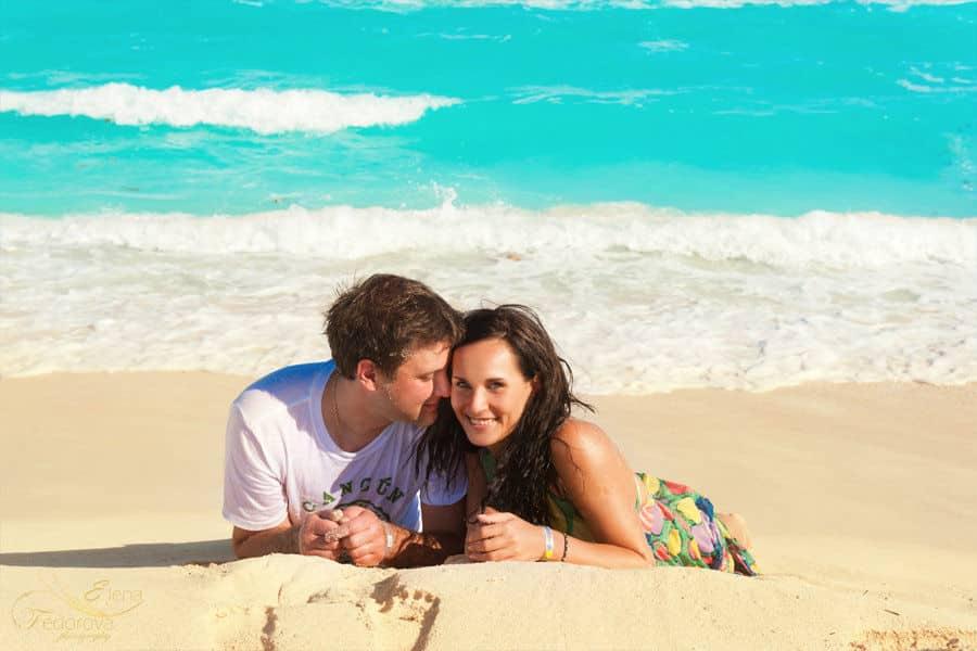 cancun beach photo session