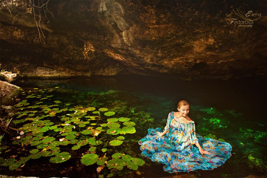 cenote photography riviera maya
