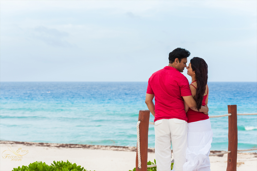 romantic photo shoots cancun