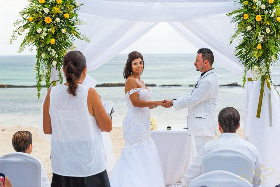 wedding in omni resort puerto aventuras