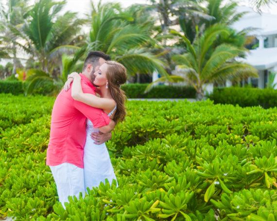 Wedding elopement at Villa Tortuga, Riviera Maya.