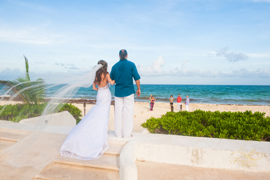 bride aisle villa tortuga riviera maya