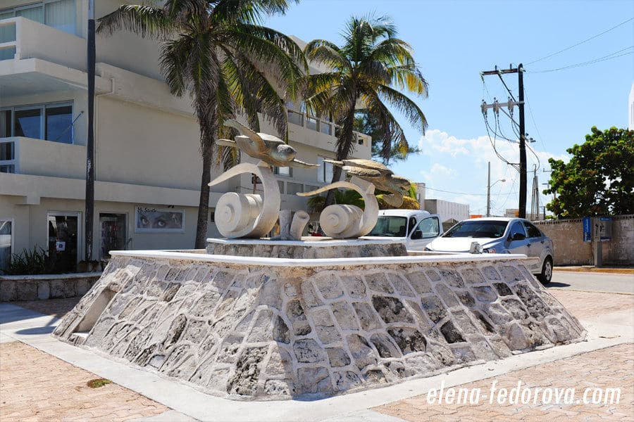 isla mexico turtle monument