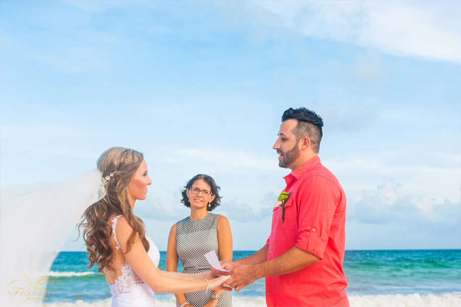 wedding elopement tortuga villa riviera maya