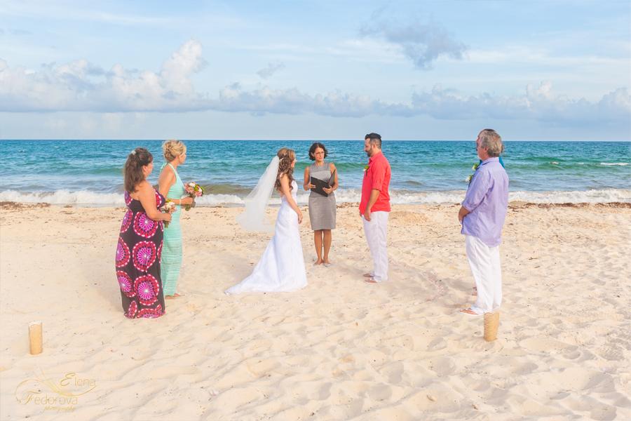 wedding elopement villa tortuga riviera maya