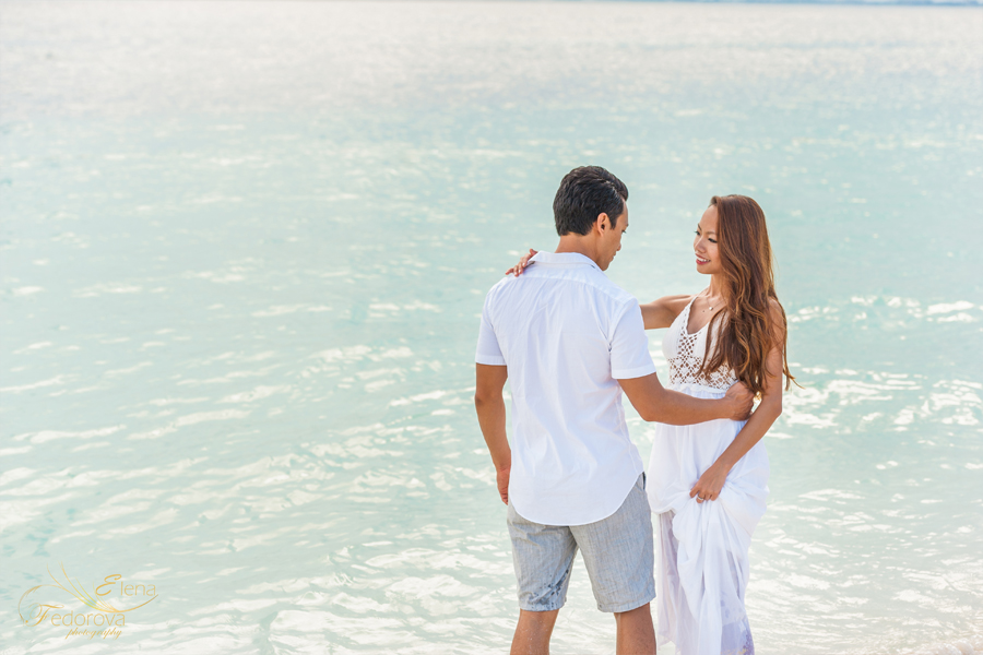isla mujeres romantic photo shoot