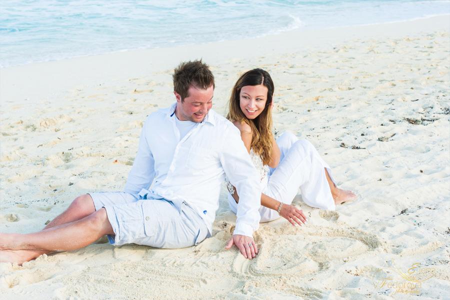 cancun photo shoot beach
