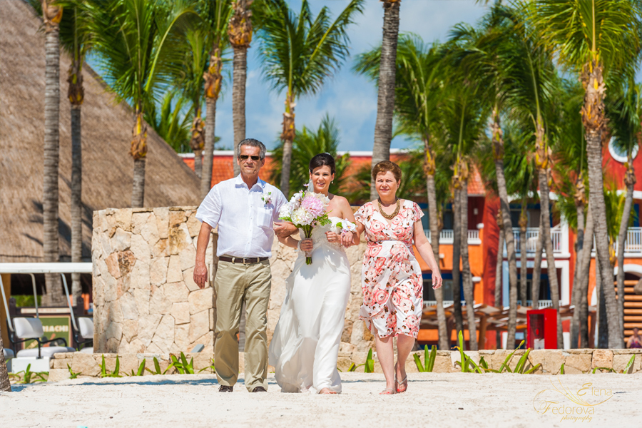 barcelo colonial wedding ceremony