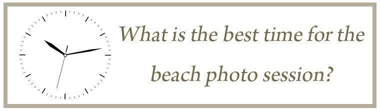 beach photo shoot time