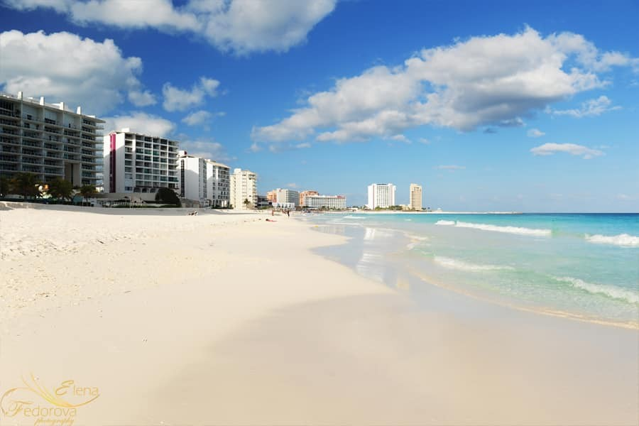 destination wedding in cancun picture