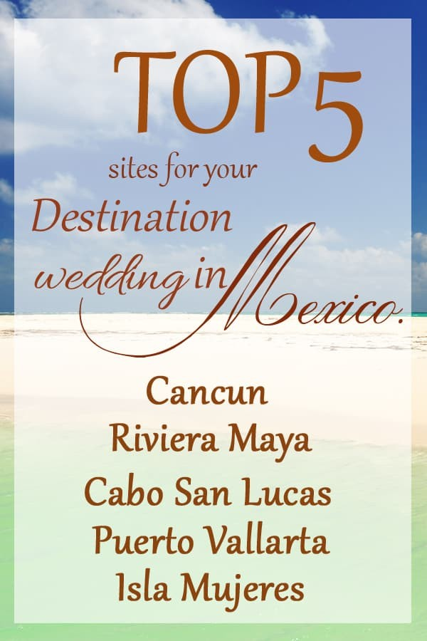 mexico destination wedding logo
