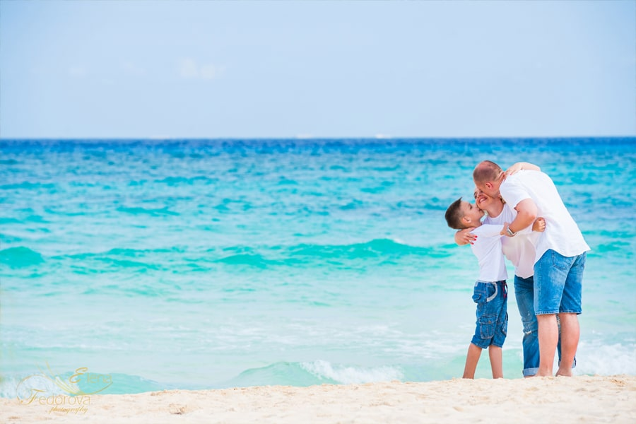 riviera maya family photo shoot