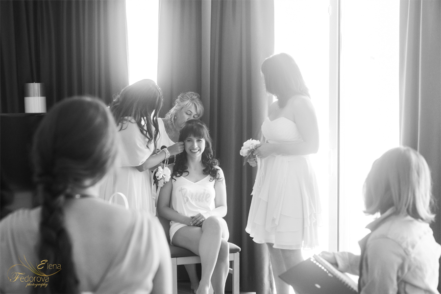 bride in the room riu palace