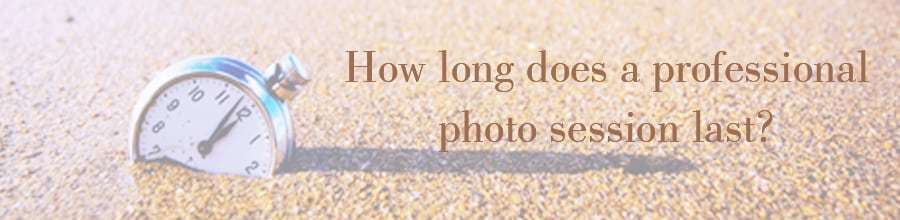 how long photo session last