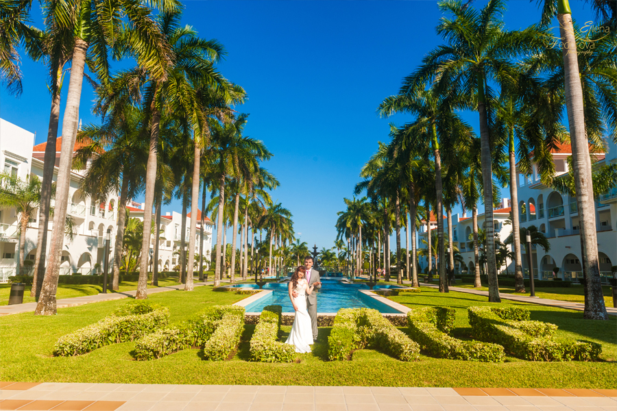 playa carmen wedding riu