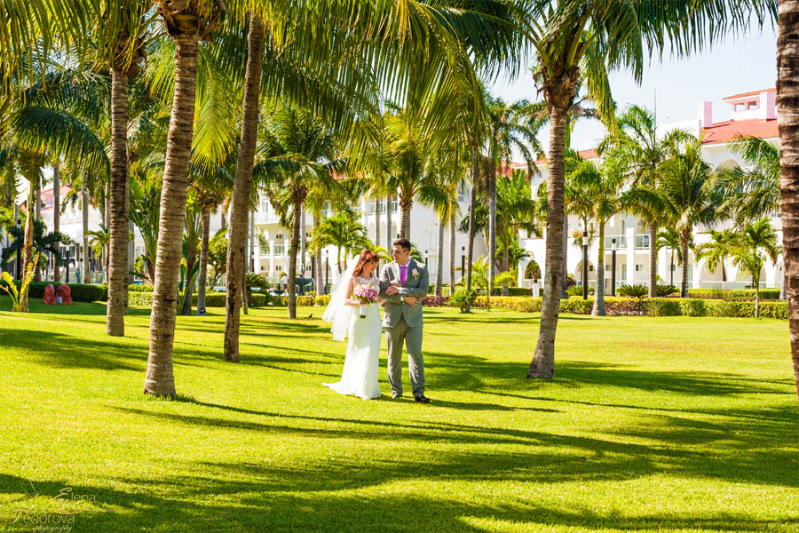 playa del carmen wedding riu