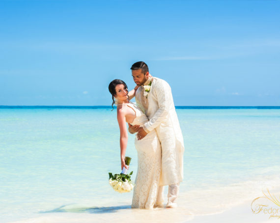 Vow renewal on Isla Mujeres Mexico.