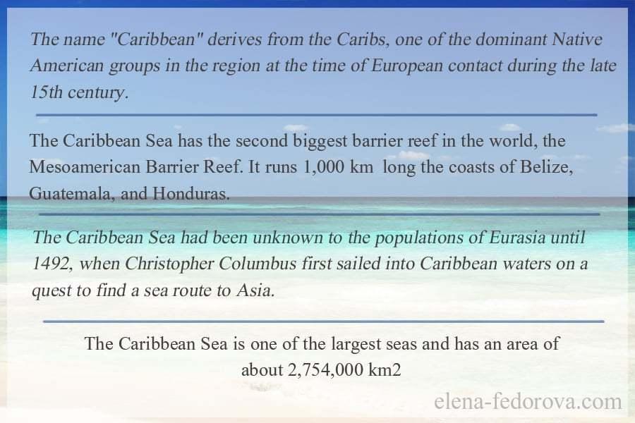 caribbean sea info