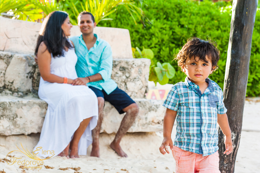 cancun photographer for family
