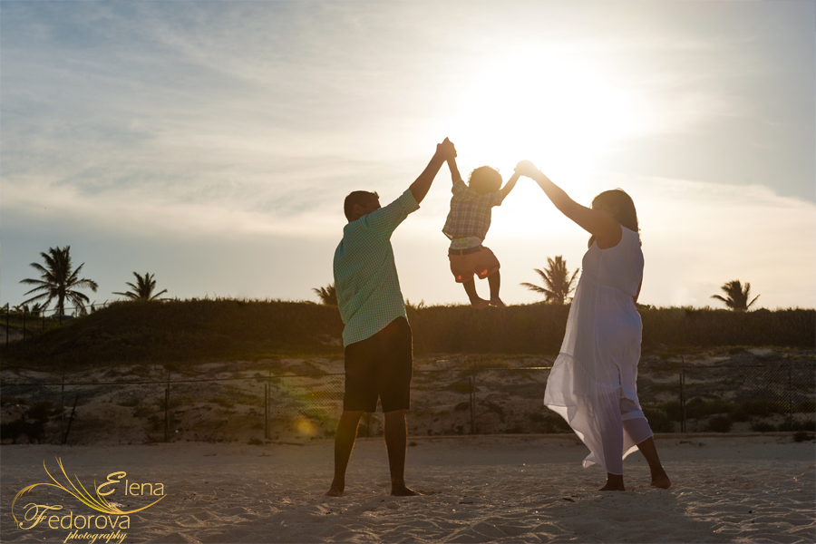 family cancun photographs