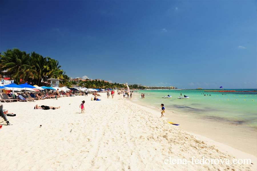 central beach in playa del carmen