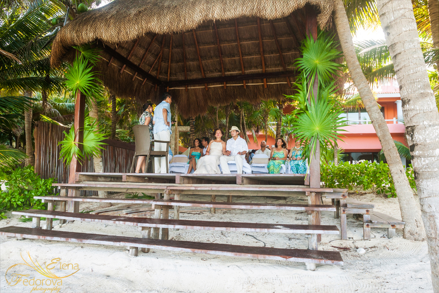 wedding ceremonies soliman bay tulum