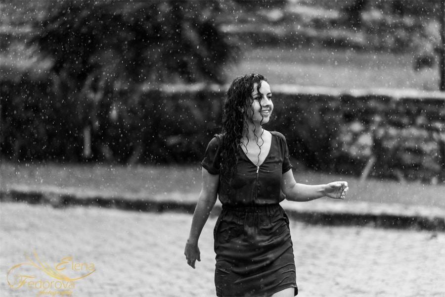 photo of rainy day
