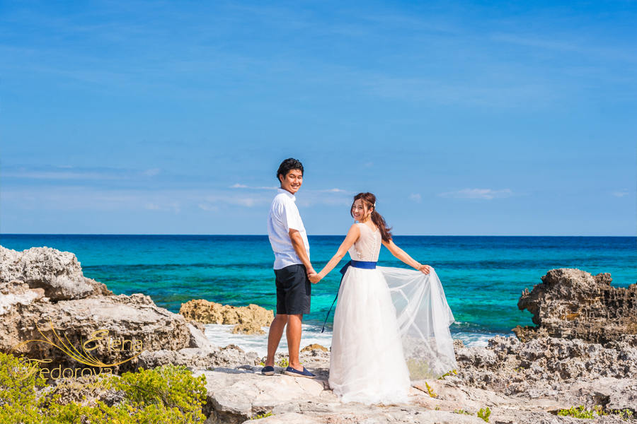 isla mujeres wedding photographer elena